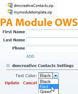 How to Create an Installable DotNetNuke PA Module Using OWS