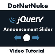 Issue 68 - Creating a jQuery Announcements Slider