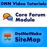 Issue 64 - DotNetNuke Forum Module and SiteMaps