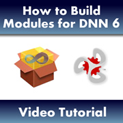 How to build Modules for DNN 6.x