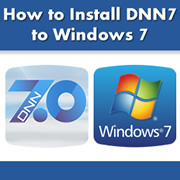 How to Install DotNetNuke 7 to Windows 7