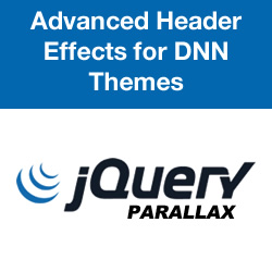 Advanced Header Effects for DNN Themes