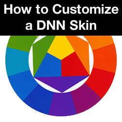 How to Customize a DNN Skin