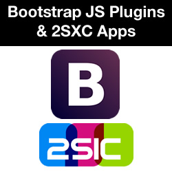 How to Implement Bootstrap 3 Plugins With a 2SXC App