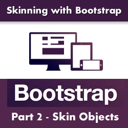Adding a Footer and Three Footer Panes to the Bootstrap Skin