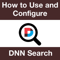 DNN Search: Filtering Results