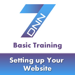 DotNetNuke 7 Basic Training - Basic Site Setup