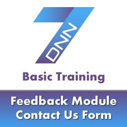 DotNetNuke 7 Basic Training - Installing Modules from the Forge & Creating a Contact Us Form
