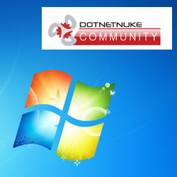 How to Install DotNetNuke to Windows 7