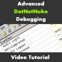 Advanced Debugging with DotNetNuke